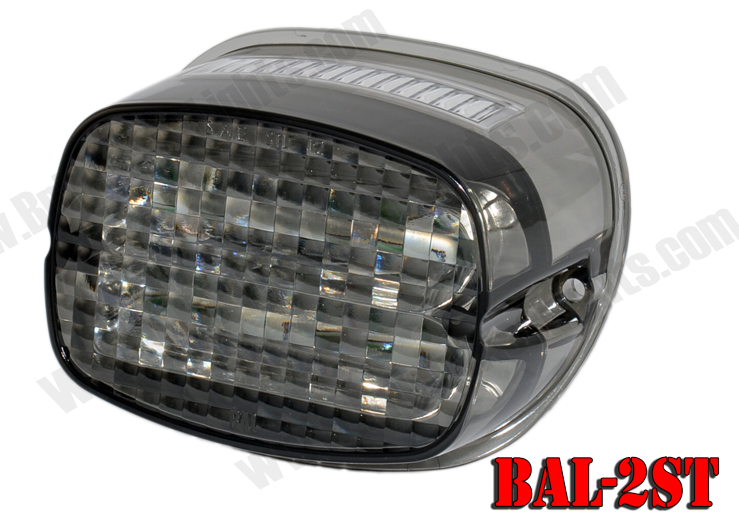 Lovely 12 Super LEDu0026reg; Tail Light WITH License Plate Light (Smoke Lens With Clear Home Design Ideas